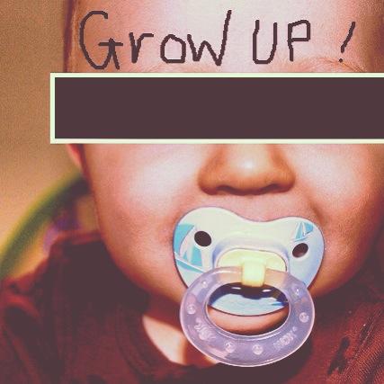baby grow up