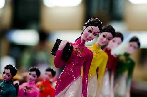 worker lady dolls