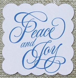 peace and joy