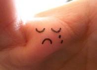 sad finger