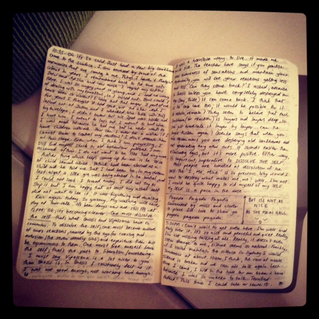 this is a photo fo my old diary