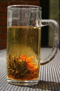 this is a photo of jasmine tea