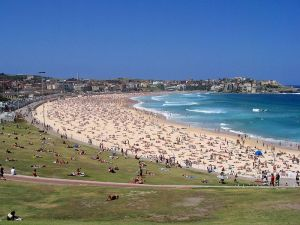 this is a photo of bondi beach