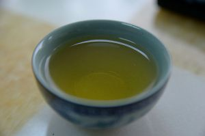this is a photo of green tea