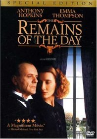 this is a movie poster for Remains of the Day