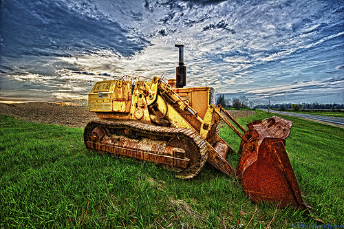 this is a photo of a tractor