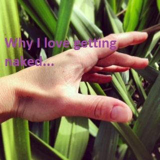 this is a photo of my hand near the grass